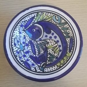 Other - Handmade Artist Catch All Jewelry Soap Dish Bowl